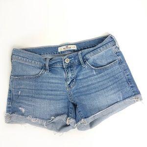 HOLLISTER Low Rise Denim Cutoffs Jean Shorts